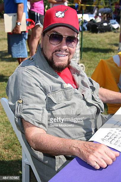 James Lipton attends the 67th Annual Artsits and Writers Charity Softball Game at Herrick Park on August 15 2015 in East Hampton New York