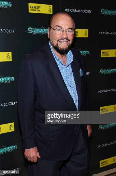 James Lipton attends the Cinema Society Amnesty International screening of The Sorcerer's Apprentice at the Tribeca Grand Hotel on July 7 2010 in New...