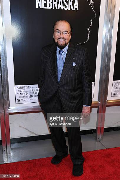 James Lipton attends the Nebraska special screening at Paris Theater on November 6 2013 in New York City