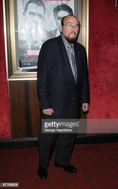James Lipton attends the New York premiere of 'Righteous Kill' at the Ziegfeld Theater on September 10 2008 in New York City
