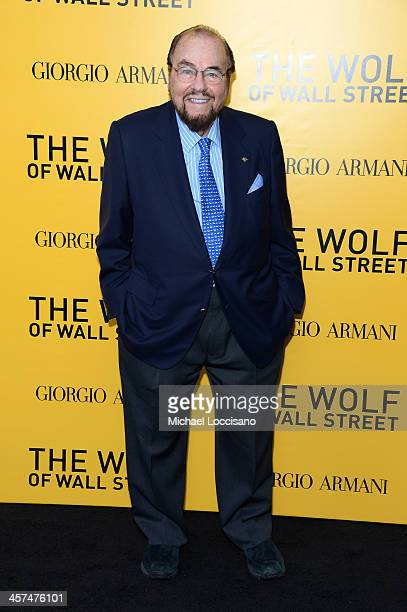 James Lipton attends the The Wolf Of Wall Street premiere at the Ziegfeld Theatre on December 17 2013 in New York City