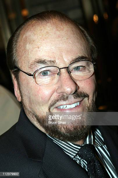 James Lipton during Billy Crystal Makes His Broadway Debut in 700 Sundays at The Broadhurst Theater/Tavern on the Green in New York NY United States