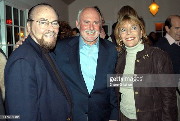 James Lipton Michael Lynne and Judy Licht during The 11th Annual Hamptons International Film Festival New Line Cinema Party at Nick and Tonis in...