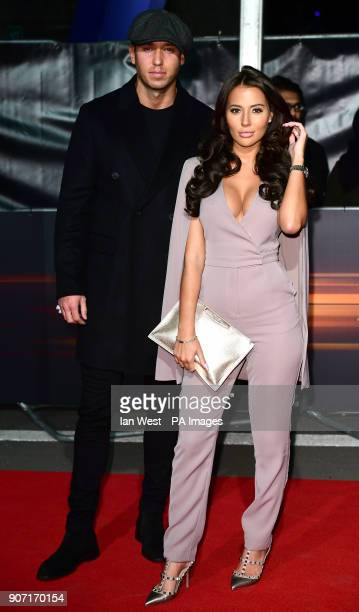 James Locke and Yasmin Oukhellou attending the World Premiere of Fast Furious Live held at the 02 Peninsula Square London Picture Date Friday 19th...