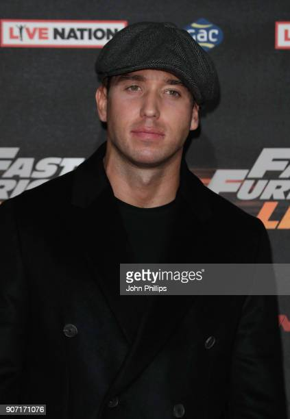 James Locke attends the 'Fast and Furious Live' premiere at the O2 Arena on January 19 2018 in London England