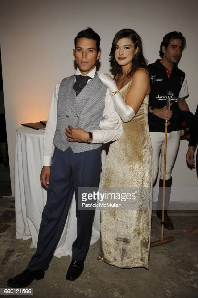 James Lopez and Megan Sokola attend An Evening of Photography To Benefit CITY HARVEST at Skylight Studios on September 18 2008 in New York City