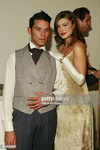 James Lopez and Megan Sokola attend THE NATIONAL AUDUBON SOCIETY Presents the Rachel Carson Award at Skylight Studios on May 22 2007 in New York City