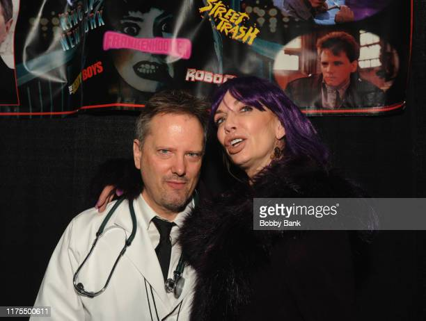 James Lorinz and Patty Mullen attend the New Jersey Horror Con 2019 at Showboat Hotel in Atlantic City on October 12 2019 in Atlantic City City