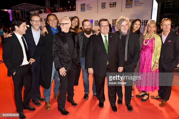 James Loye President of eOne Films Patrick Roy Raoul Trujillo Roger Frappier Naiade Aoun David La Haye Denis Coderre Francois Girard Tanaya Beatty...
