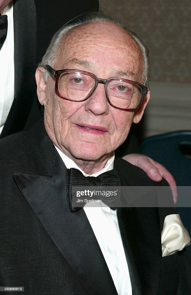 James M. Nederlander during The Actors' Fund of America's Standing Ovation! Gala 80th Birthday Celebration in Honor of James M. Nederlander at Sheraton New York in New York City, New York, United States.