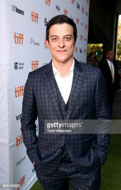 James Mackay attends the 'Battle of the Sexes' TIFF screening on September 10 2017 in Toronto Canada
