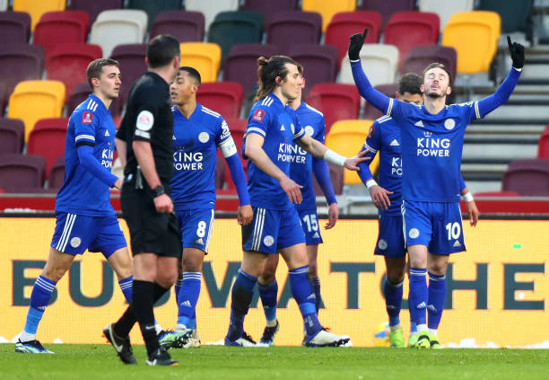 GBR: Brentford v Leicester City: The Emirates FA Cup Fourth Round