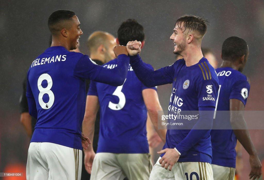 Southampton FC v Leicester City - Premier League : News Photo