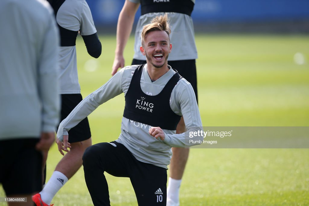 GBR: Leicester City Training Session