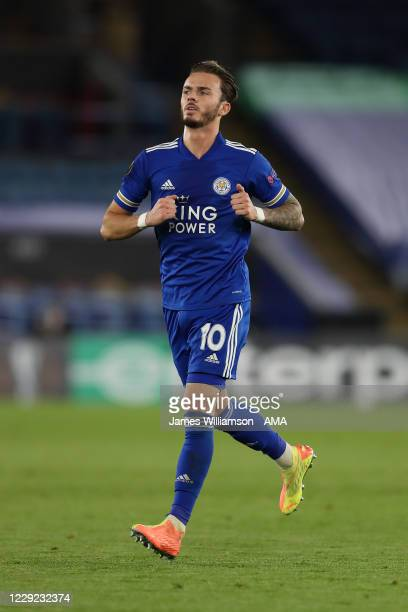 James Maddison of Leicester City during the UEFA Europa League Group G stage match between Leicester City and Zorya Luhansk at The King Power Stadium...