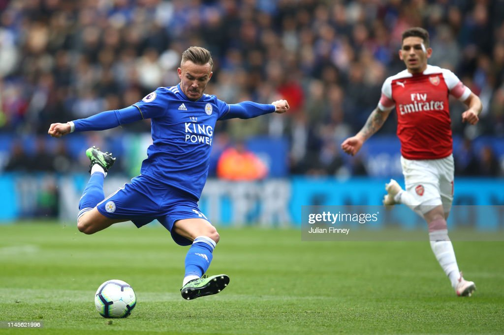 Leicester City v Arsenal FC - Premier League : News Photo