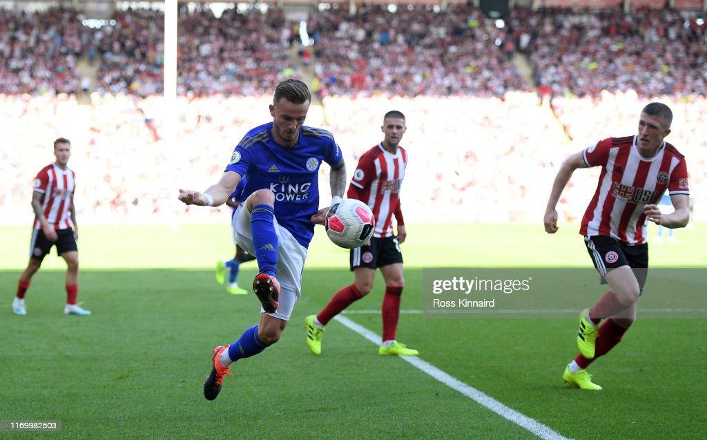 Sheffield United v Leicester City - Premier League : News Photo