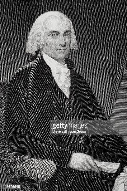 James Madison 17511836 Fourth president of the United States 180917 From painting by Alonzo Chappel