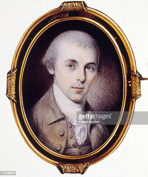 James Madison the 4th President of the United States Known as the Father of the Constitution he also cowrote the Federalist Papers 1783 Painting by...