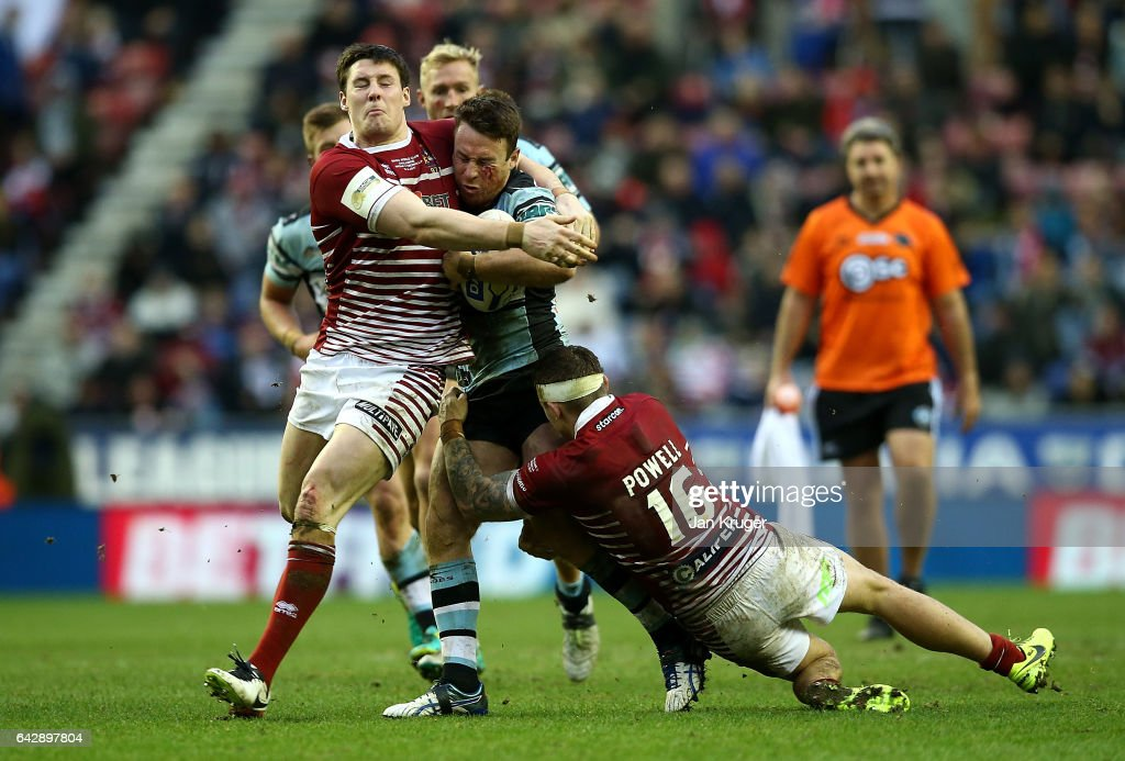 Wigan Warriors v Cronulla-Sutherland Sharks - Dacia World Club Challenge