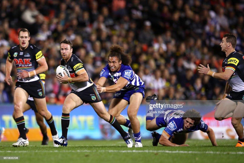 NRL Rd 8 - Panthers v Bulldogs : News Photo