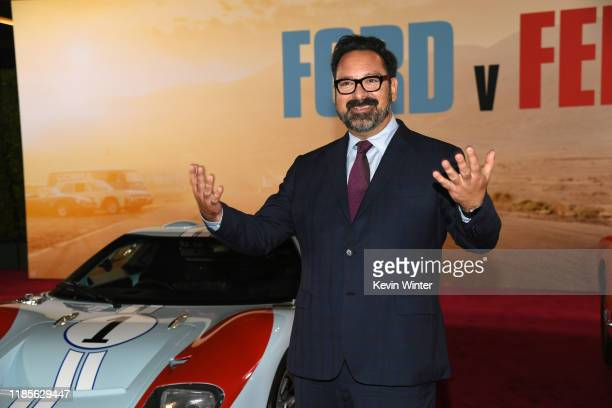 James Mangold arrives at the premiere of Fox's Ford V Ferrari at the TCL Chinese Theatre on November 04 2019 in Hollywood California