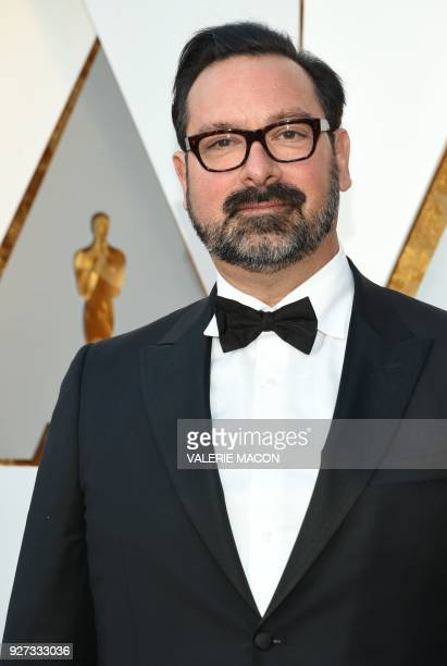 James Mangold arrives for the 90th Annual Academy Awards on March 4 in Hollywood California / AFP PHOTO / VALERIE MACON
