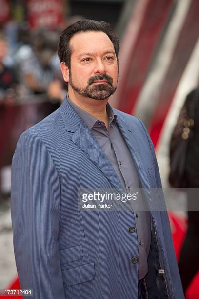 James Mangold attends the UK Premiere of 'The Wolverine' at Empire Leicester Square on July 16 2013 in London England
