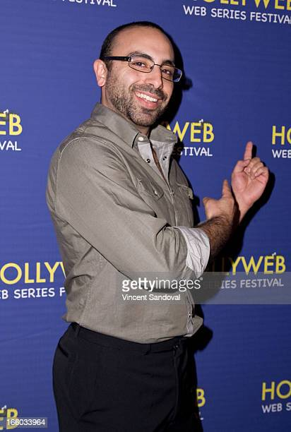 James Manzo attends the 2nd annual HollyWeb Festival at Avalon on April 7 2013 in Hollywood California