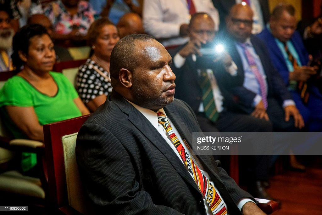 PNG-POLITICS-ENERGY-MARAPE : News Photo
