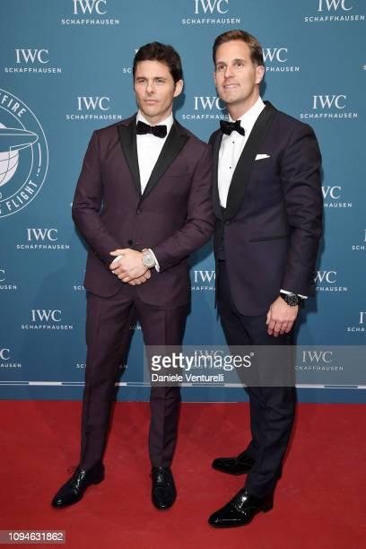 James Marsden and Christoph GraingerHerr walk the red carpet for IWC Schaffhausen at SIHH 2019 on January 15 2019 in Geneva Switzerland