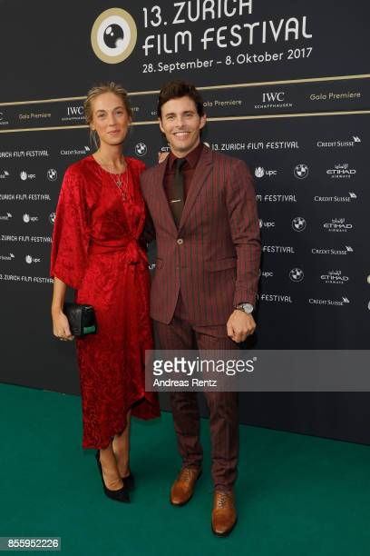 James Marsden and Emma Deigman attend the 'Shock and Awe' premiere at the 13th Zurich Film Festival on September 30 2017 in Zurich Switzerland The...