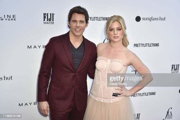 James Marsden and Ilaria Urbinati attend The Daily Front Row Fifth Annual Fashion Los Angeles Awards at Beverly Hills Hotel on March 17 2019 in...