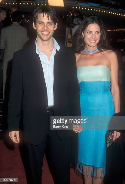 James Marsden and Lisa Linde