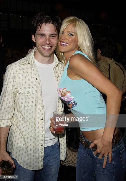 James Marsden and Victoria Silvstedt