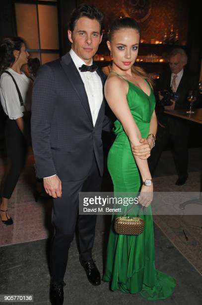 James Marsden and Xenia Tchoumi attend the IWC Schaffhausen Gala celebrating the Maison's 150th anniversary and the launch of its Jubilee Collection...