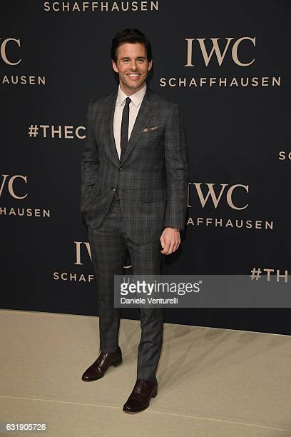 James Marsden arrives at IWC Schaffhausen at SIHH 2017 'Decoding the Beauty of Time' Gala Dinner on January 17 2017 in Geneva Switzerland