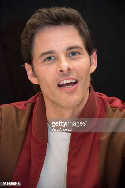 James Marsden at the 'Westworld' Press Conference at the Montage Hotel on March 13 2018 in Beverly Hills California