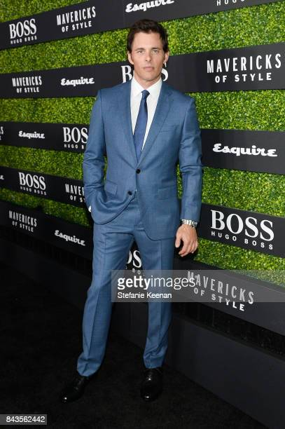James Marsden attends Esquire Celebrates September Issue's 'Mavericks of Style' Presented by Hugo Boss at Chateau Marmont on September 6 2017 in Los...