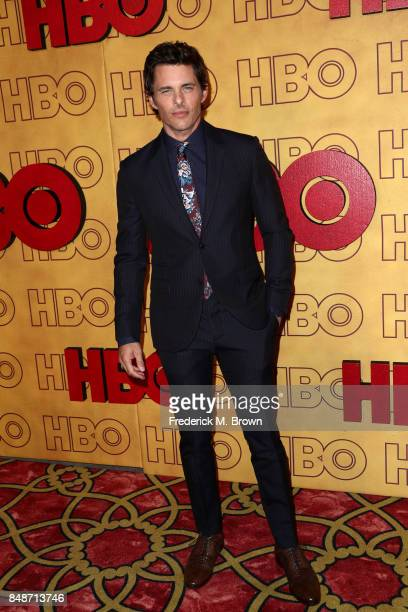 James Marsden attends HBO's Post Emmy Awards Reception at The Plaza at the Pacific Design Center on September 17 2017 in Los Angeles California