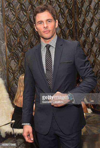 James Marsden attends IWC Schaffhausen celebrates ''Timeless Portofino'' Gala Event during Art Basel Miami Beach to mark the launch of the New...