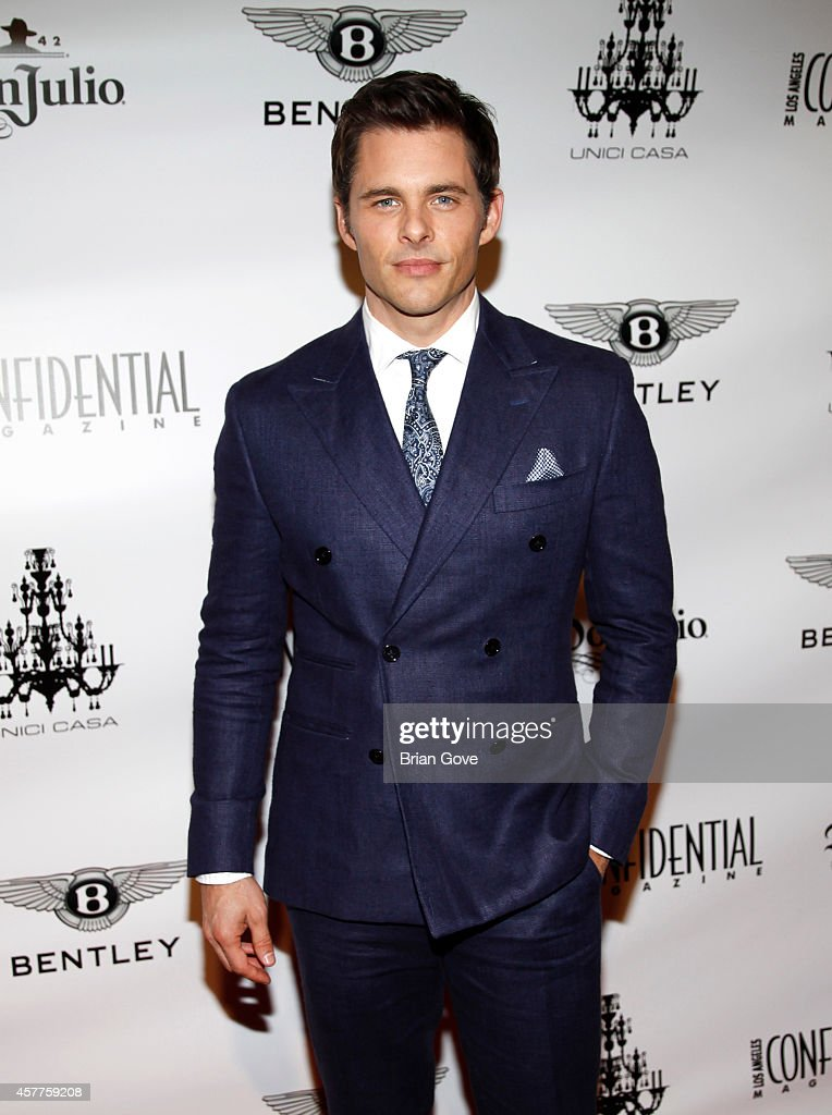 "Los Angeles Confidential Magazine October ""Men's Issue"" Launch Party With James Marsden"