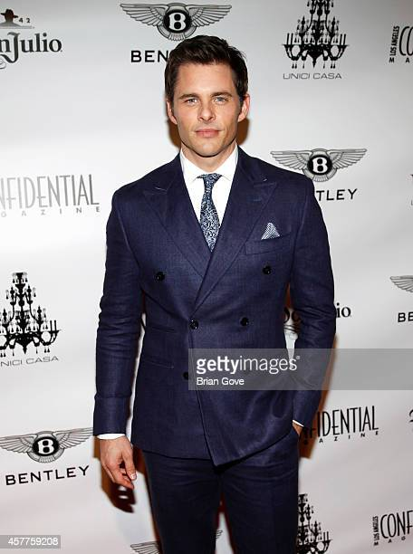 James Marsden attends Los Angeles Confidential Magazine October 'Men's Issue' launch party with James Marsden at Unici Casa Gallery on October 23...