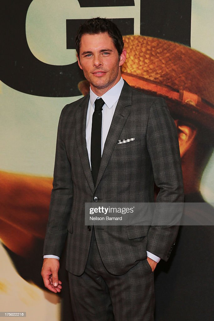 James Marsden attends the '2 Guns' New York Premiere at SVA Theater on July 29, 2013 in New York City.