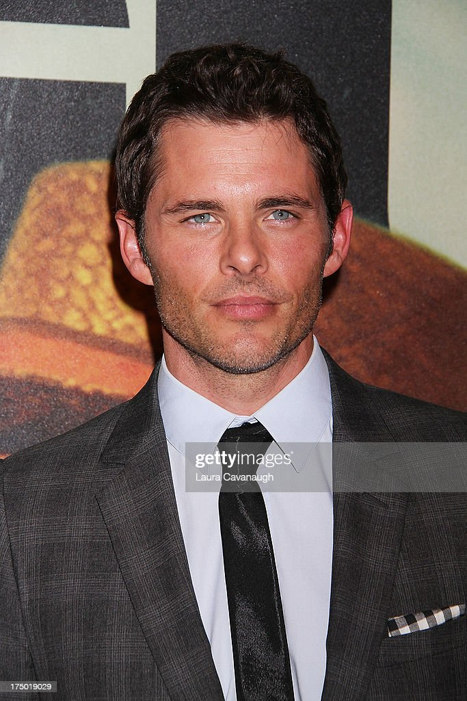 James Marsden attends the '2 Guns' premiere at SVA Theater on July 29, 2013 in New York City.