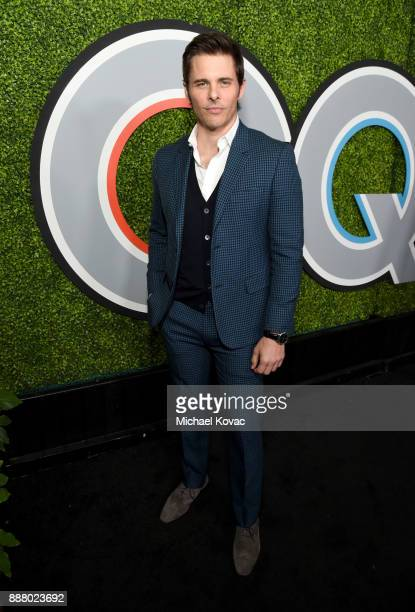 James Marsden attends the 2017 GQ Men of the Year party at Chateau Marmont on December 7 2017 in Los Angeles California