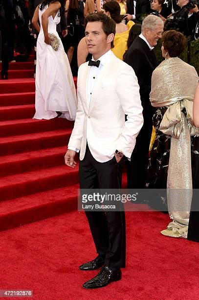 James Marsden attends the 'China Through The Looking Glass' Costume Institute Benefit Gala at the Metropolitan Museum of Art on May 4 2015 in New...