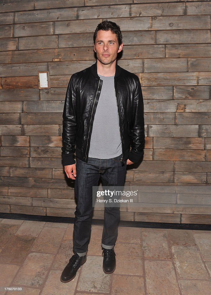 James Marsden attends The Cinema Society and MCM with Grey Goose screening of Radius TWC's 'Lovelace' after party at Refinery Rooftop on July 30, 2013 in New York City.
