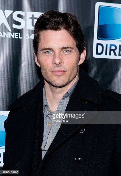 James Marsden attends the DirecTV Super Saturday Night at Pier 40 on February 1 2014 in New York City