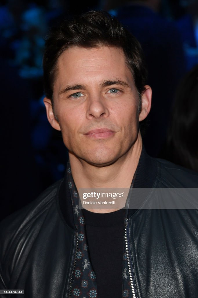James Marsden attends the Dolce & Gabbana show during Milan Men's Fashion Week Fall/Winter 2018/19 on January 13, 2018 in Milan, Italy.